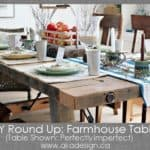 diy round up farmhouse tables