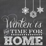 winter is the time for home for blog