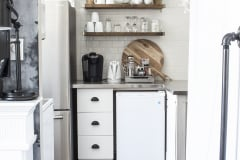 white-kitchen-breakfast-bar-stainless-steel-fridge