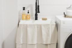 farmhouse-laundry-room-drop-cloth-sink-skirt