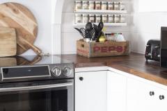 Ikea-picture-ledge-as-spice-rack-pepsi-crate-kitchen-storage