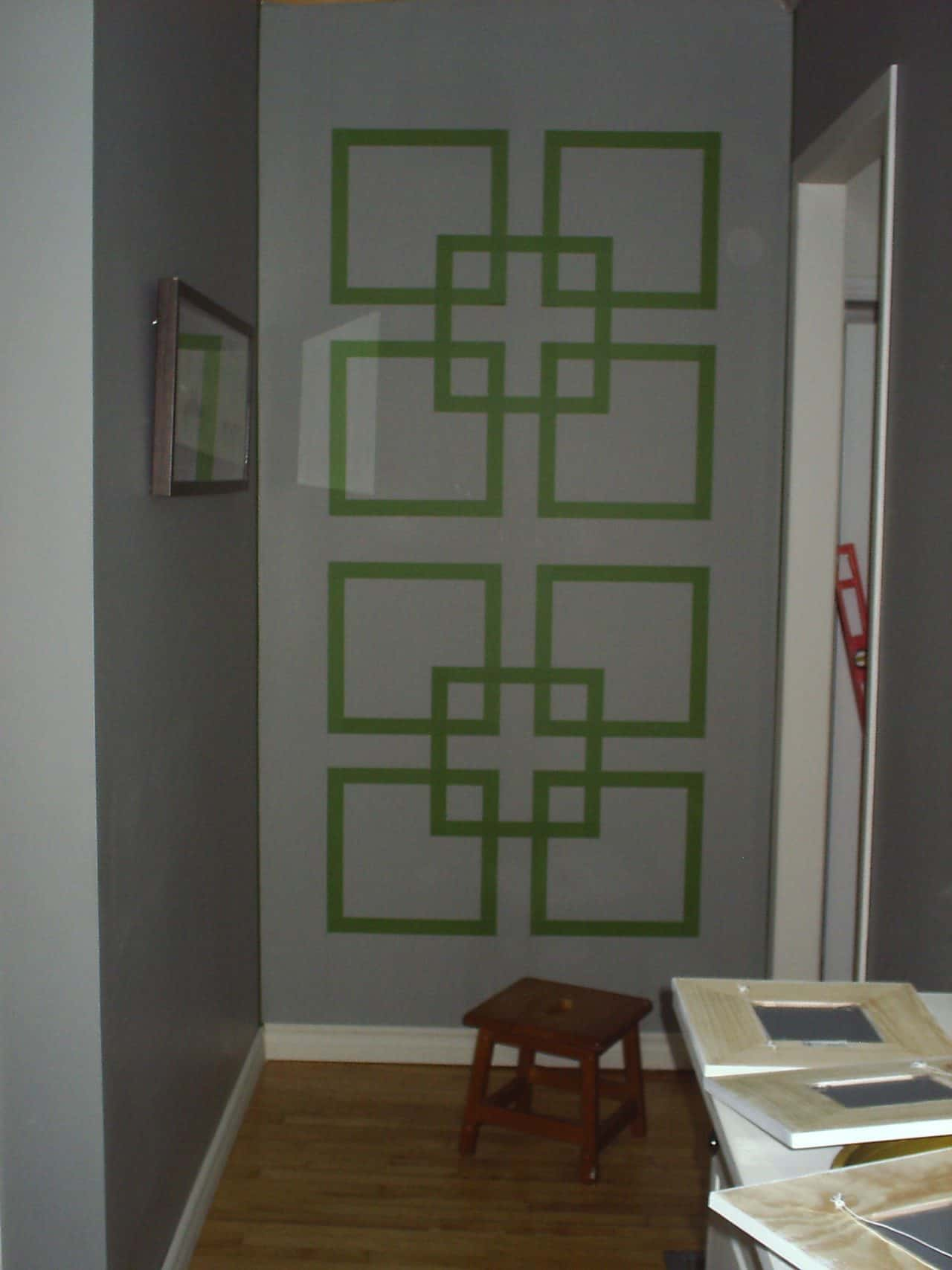 wall designs with paint and tape