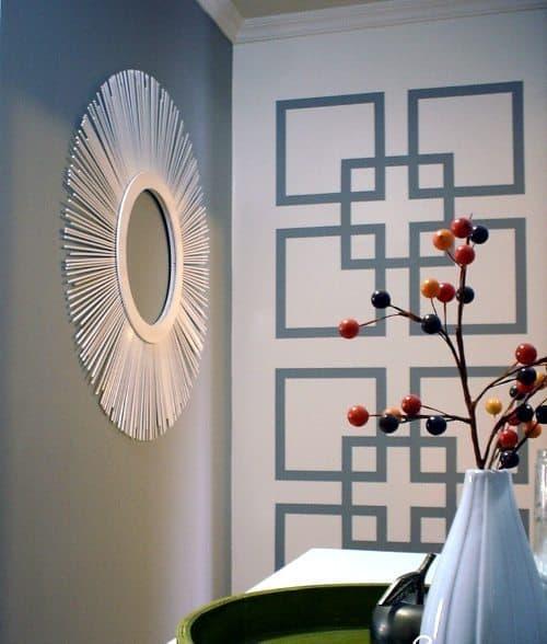 geometric statement wall