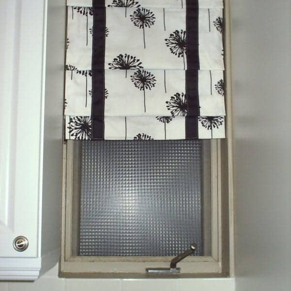 How to Make Faux Roman Blinds | www.akadesign.ca