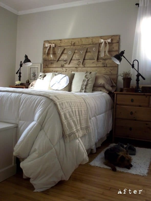 Reclaimed Wood Bed Frame Vancouver