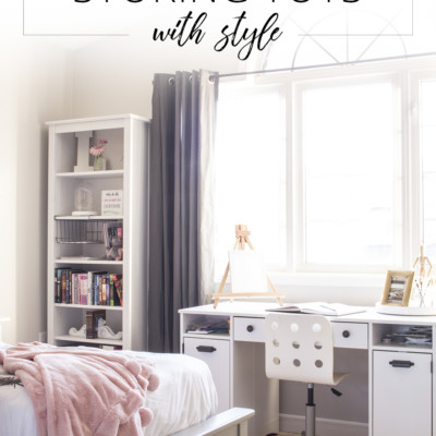 Organizing & Storing Toys with Style!