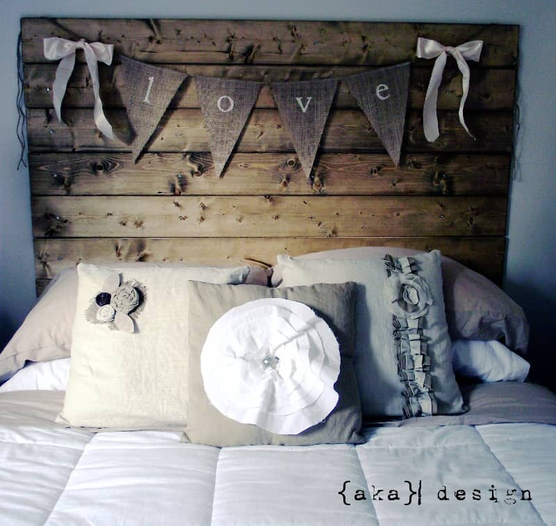 how to make a reclaimed wood headboard with new wood for less than, Headboard designs