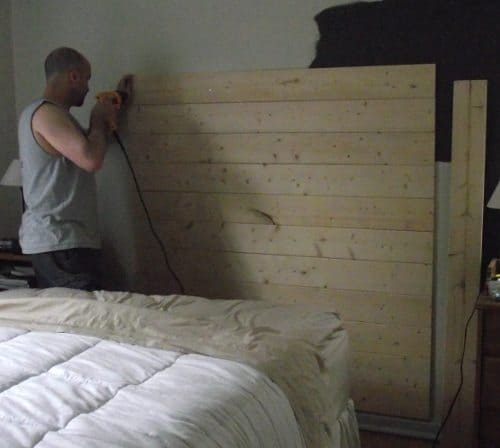 How To Make A Reclaimed Wood Headboard With New Wood For