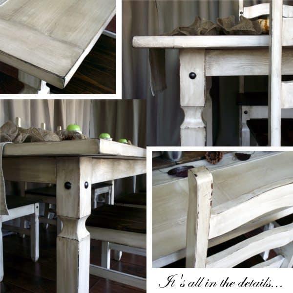 Diy Farmhouse Kitchen Table: DIY Project: Rustic Farmhouse Table