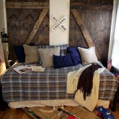 Barn Door Bedroom