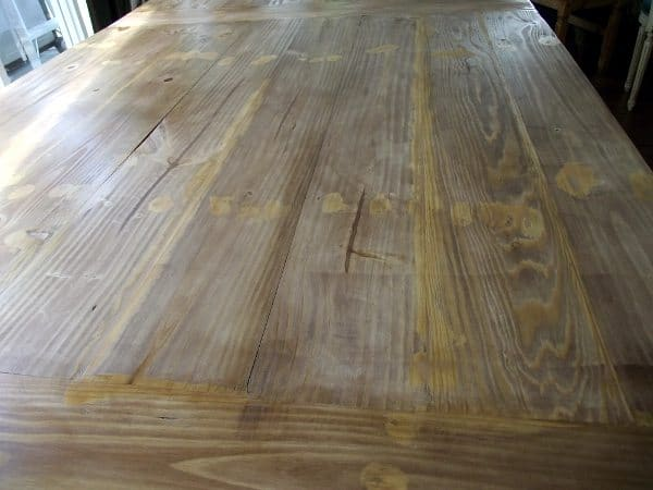 and holes with stain able wood filler we realized that stain able wood ...