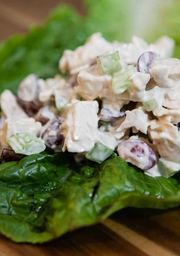 Chunky Chicken Salad – Using Leftover or Canned Chicken!