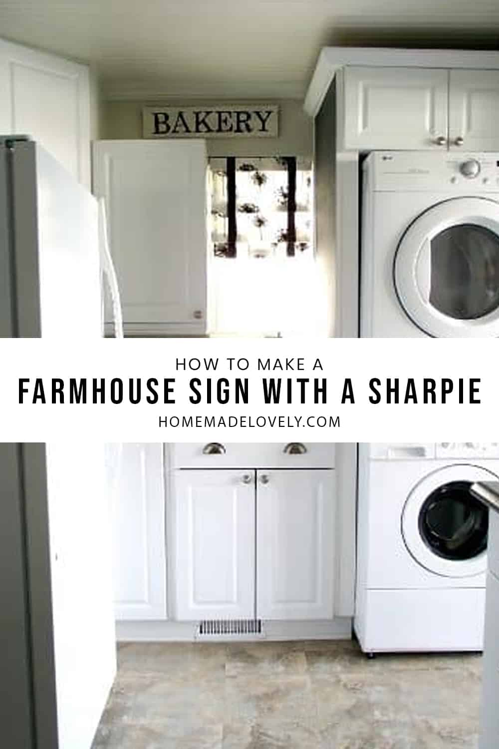 how to make a farmhouse sign with a sharpie new