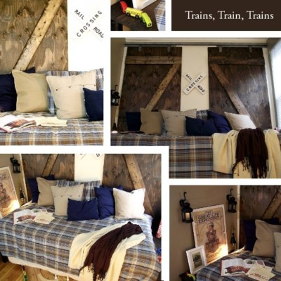 The Boy's Train Room