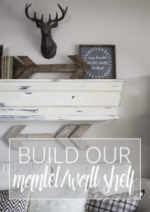 build our mantel wall shelf