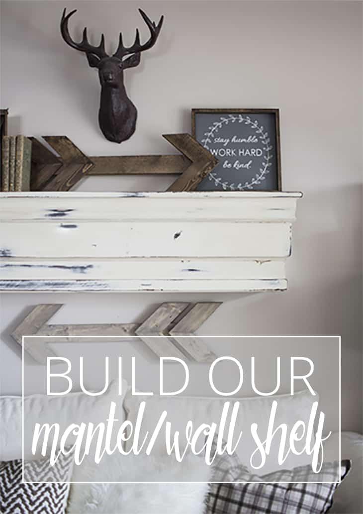 build our mantel wall shelf