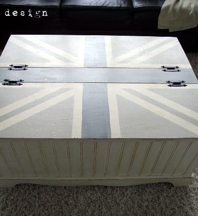 union jack coffee table top