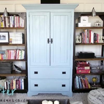 Tips for Styling Bookshelves
