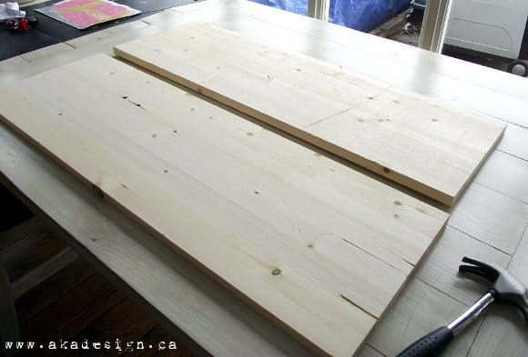 1 14 Pine Boards ~ How to make wood look old in simple steps