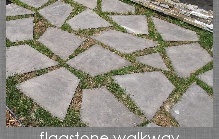 The Curb Appeal Series: The Flagstone Walkway
