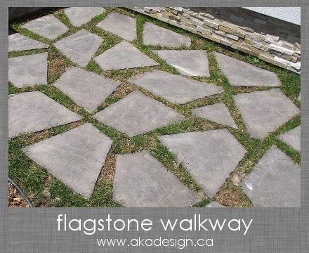 the curb appeal series the flagstone walkway