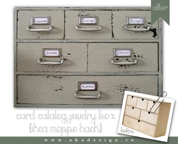 Ikea Card File Drawers