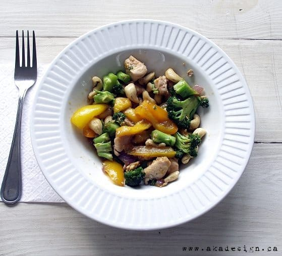 Recipe: Mango Cashew Chicken