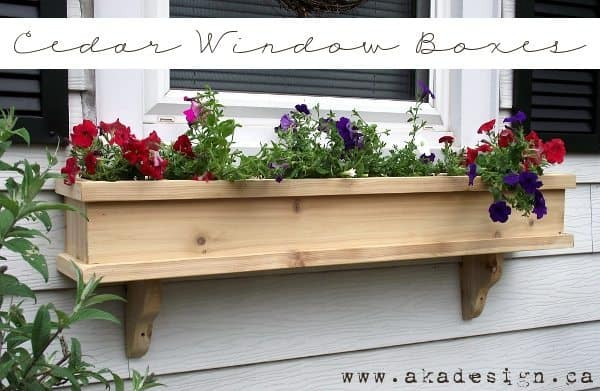 How To Make A Drop Leaf Dining Table, Cedar Window Planter ...