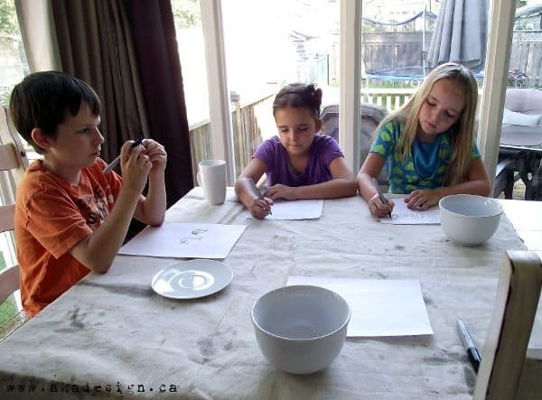 homeschooling without a school room kids at the dining room table