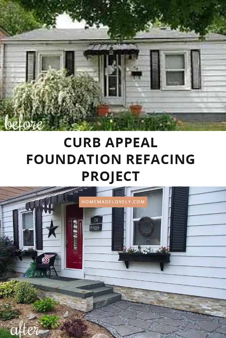 Foundation Refacing – How to Cover a Cinder Block Foundation