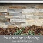 The Curb Appeal Series: Foundation Refacing