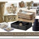 Get Organized: Seasonal Clothes Storage