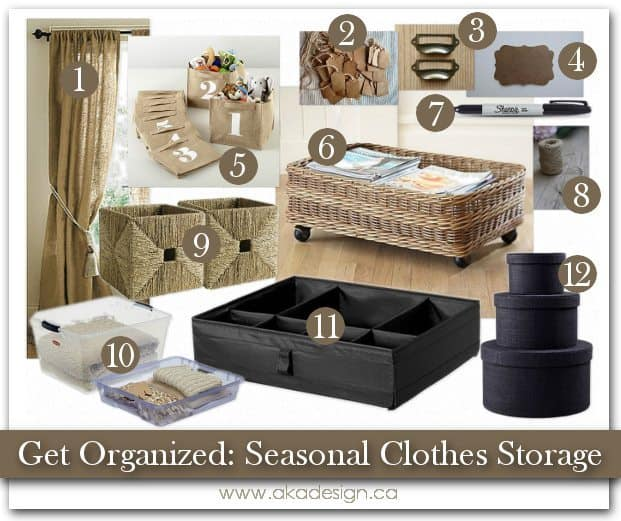 Merveilleux Storing Winter Clothes   Storage Solutions