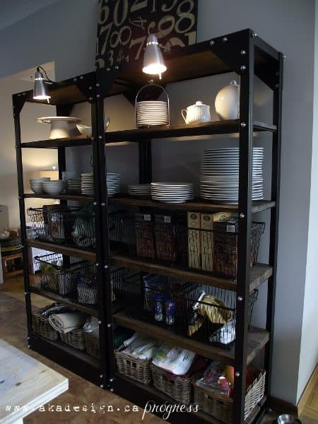 industrial kitchen shelving crowdbuild for