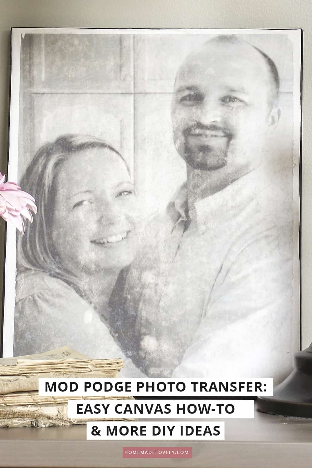 How to use Mod Podge Photo Transfer Medium to create home decor on wood, glass, fabric, canvas, etc. from your photos and art! FAQ, tips and ideas