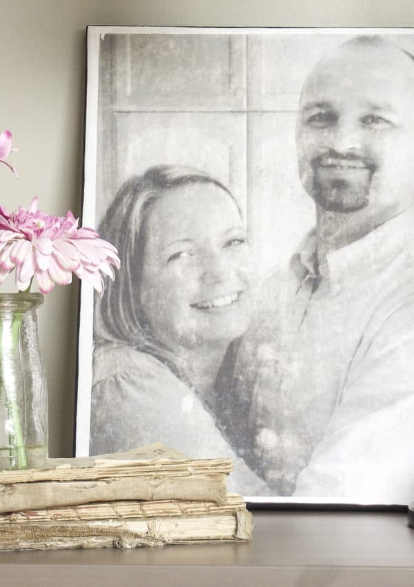 Mod Podge Photo Transfer: Easy Canvas How-To & More DIY Ideas