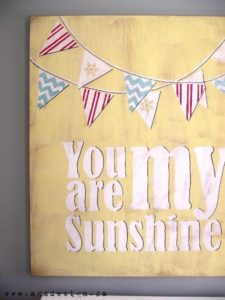 You Are My Sunshine Art DIY (Reader Favorite)
