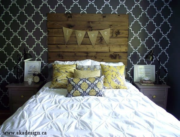 rustic chic master bedroom reveal aka design
