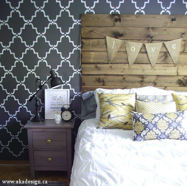 rustic chic master bedroom reveal aka design