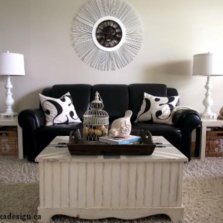 living room as is