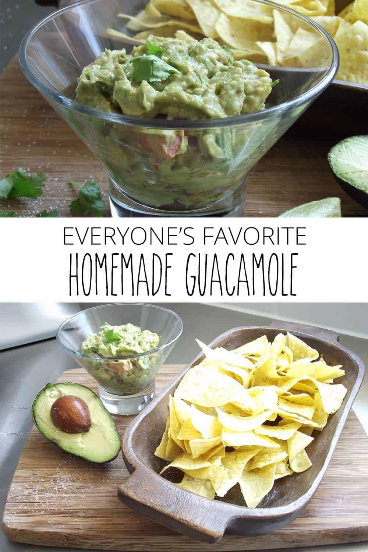 Everyone's Favorite Homemade Guacamole
