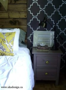 ikea hack nightstand