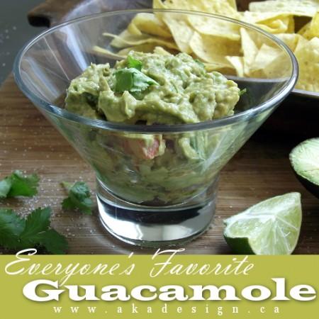 favorite guacamole recipe