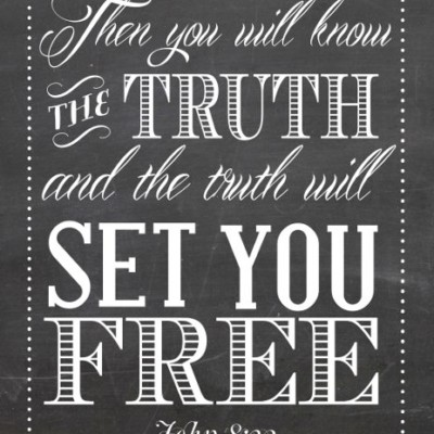Free Indeed & Know Who You Are In Christ (Printable Art)