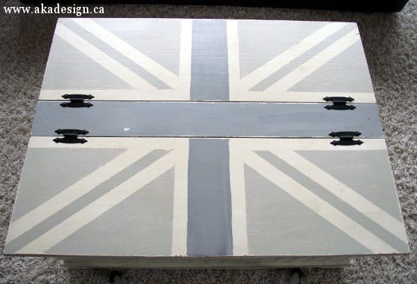 coffee table union jack top