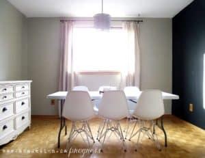 aka design dining room progress