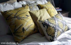 DIY envelope pillows