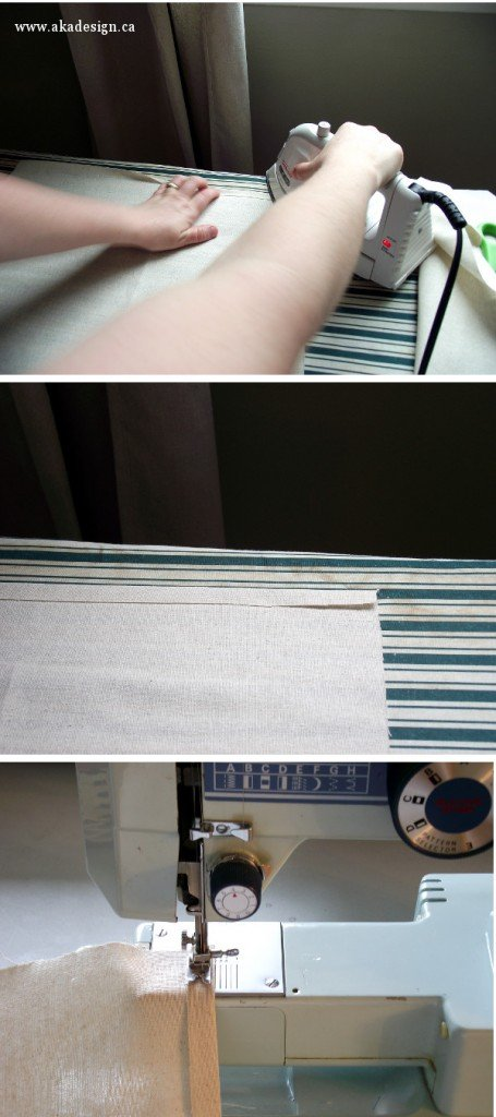 hemming pillow back