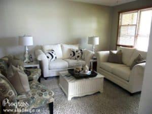 aka design living room progress