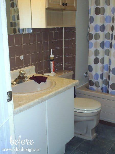 old bath from doorway